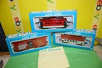 Three LIFE LIKE CAMPBELL SOUP COMPANY HO RAILROAD Cars