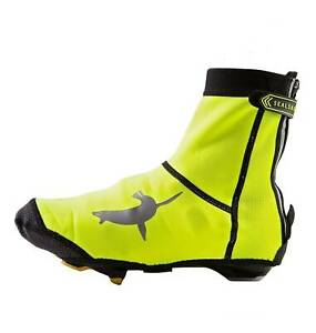 High-Visibility Neoprene Open-Sole Cycling Shoe Covers by SealSkinz 2018/19