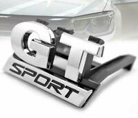 Emblèm Insigne LOGO GT SPORT Calandre Volkswagen Polo Golf Passat B5 Touran Bora