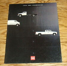Original 1994 GMC Truck Commercial Vehicles Sales Brochure 94 Sierra Safari