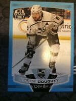 UD O-Pee-Chee 2019-2020 DREW DOUGHTY ALL STAR BLUE BORDER HOCKEY CARD #157