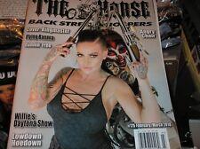 THE HORSE  back street chopper  magazine  #175  february/march  2018  RINGMASTER