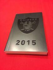 2015 NFL Oakland Raiders media guide / Las Vegas / Carr / Mack / Woodson