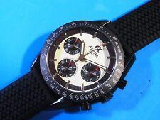 Alpha Ref.1957 ST1903 Chronograph Schumacher Panda Dial DLC Coating Watch