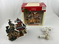 Lemax Village Collection Porcelain Lighted House 2001 Michaels Exclusive w Box