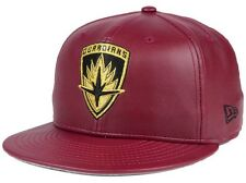 New Era Marvel Guardians Of The Galaxy  Faux Leather 59fifty Fitted Cap 7 3/8