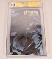 Batman Who Laughs 4 DC Trade Variant Signed Jeehyung Lee CGC 9.8 Catwoman