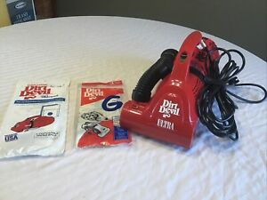 Dirt Devil Ultra Model 08230  With 6 Extra Bags  Nice