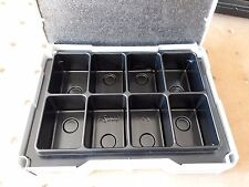 Eight Compartment Insert for Festool / Tanos Systainer