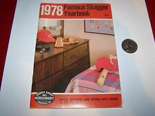 1978 FAMOUS SLUGGER BASEBALL YEARBOOK CINCINNATI REDS COVER