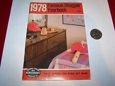 1978 FAMOUS SLUGGER BASEBALL YEARBOOK CINCINNATI REDS COVER