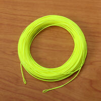 Fly Fishing Line & 2Welded Loops WF1 2 3 4 5 6 7 8 9F Orange White Green Yellow