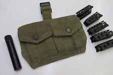 10 British Enfield Stripper Clips Pouch Oiler Smle No 1 Mkiii No 4 Mki 303 Cal