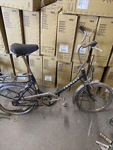 vintage peugeot folding bicycle schwinn trek  3spd old 70s bike bicycle