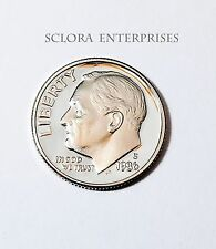 1986 S ROOSEVELT *PROOF* DIME **FREE SHIPPING**