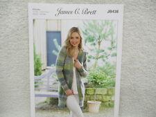 e695e8133c062b James C Brett - Ladies Chunky Jacket Knitting Pattern - JB438