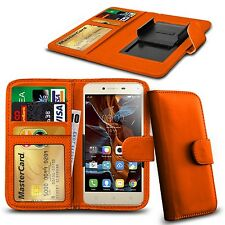 Für verykool s4010 Gazelle-Clamp Style PU Leder Wallet Case Cover