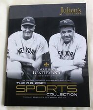 SPORTS MEMORABILIA Juliens Auction Catalogue TY COBB Babe Ruth KNUTE ROCKNE