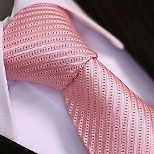 BINDER de LUXE KRAWATTE tie Schlips corbata cravatte Dassen krawat 141 rosa