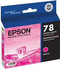 New Genuine Epson T0783 Magenta Ink Cartridge, Stylus Photo R260, Artisan 50