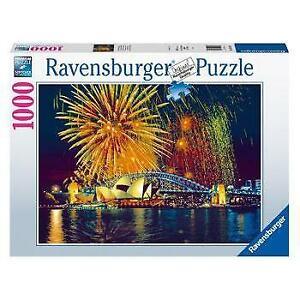 Ravensburger Fireworks over Sydney Australia 1000 Piece Jigsaw Puzzle