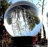 100mm,pierres précieuses guérison clair cristal de quartz sphère balle naturelle