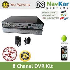 8 CH DVR KIT | 8 CHANNEL DVR KIT NETWORK DVR FOR CCTV DOME & BULLET CAMERA