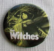 Original 1990 THE WITCHES pin Roald Dahl Nicolas Roeg Angelica Huston