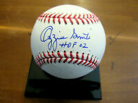 OZZIE SMITH HOF 02 ST LOUIS CARDINALS SIGNED AUTO OML BASEBALL JSA AUTHENTIC