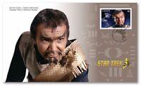 STAR TREK = 50th = JOHN COLICOS as COMMANDER KOR = OFDC = FDC Canada 2016