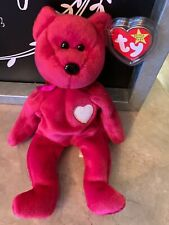 Ty 8.5 inch Valentina Red Bear Beanie Baby