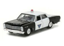 Greenlight 1/64 1967 Ford Custom 500 New Jersey Police Car Black White (42800B)