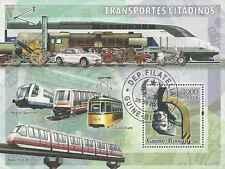 Timbre Trains Guinée Bissau BF317 o année 2006 lot 19647 - cote : 15 €