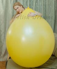 KATYA'S OLYMPIC BALLOON 45inch yellow lemon huge big giant latex looner large