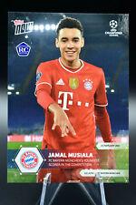 2020-21 Topps Now Jamal Musiala Bayern Rookie