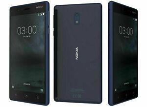 "Nokia 3 TA 1020-16GB- 5.0""- Unlocked - Black Smartphone Excellent condition"