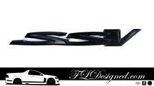 Holden/ HSV Ve/ Vf GLOSS Black SSV Badge