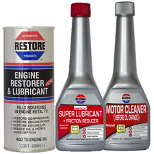 AMETECH RESTORE Bundle NOISY 2L ENGINES - Engine Restorer, Flush, Super Lube