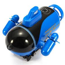 Elektrisches Mini RC U-Boot Radio ferngesteuertes Bootsspielzeug mit LED-Licht