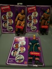 New Sealed Retro Action 2010 The Real Ghostbusters Lot of 3 Peter, Ray, and Egon