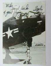 W Paul Thayer Autograph Deputy Secretary of Defense for Reagan Lt Commander USN