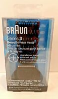 Braun Series 3 Beard Trimmer Head + 5 Combs, BT32 Styling Attachment