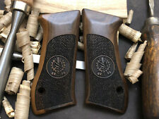 Jericho 941F, 941Fs Walnut Wood Grips. Handmade. Aaa Quality. Us Based Seller