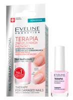 EVELINE COSMETICS THERAPY FOR DAMAGED NAILS REBUILD & REPAIR NAIL CONDITIONER