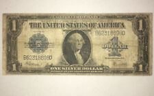 $1 Silver Certificate Large Size Note 1923 Very Good Condition