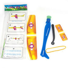 1Pc Rubber Band Catapult Plane Foam Model intelligence Kids Novelty Flying Toy