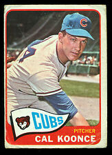 1965 TOPPS OPC O PEE CHEE BASEBALL #34 CAL KOONCE VG CHICAGO CUBS card
