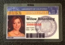 Buffy Vampire Slayer ID Badge-Sunnydale Willow Rosenberg prop costume cosplay