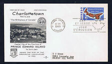 Canada #499(1)1969 6 cent CHARLOTTETOWN BICENTENNIAL HB Used CFDC