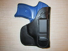 IWB and pocket leather holster,right hand,Ruger lc9,Kahr pm9-cm9 & cw9,sig 232